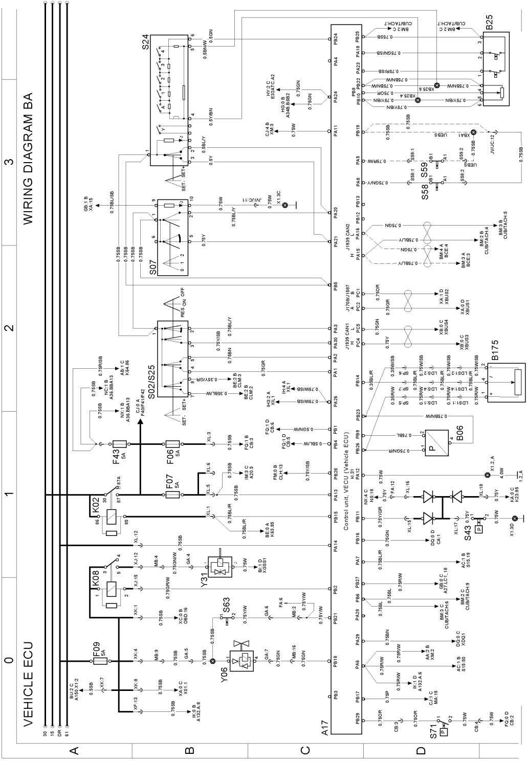 T3075969 Page 12 (298) Wiring diagram