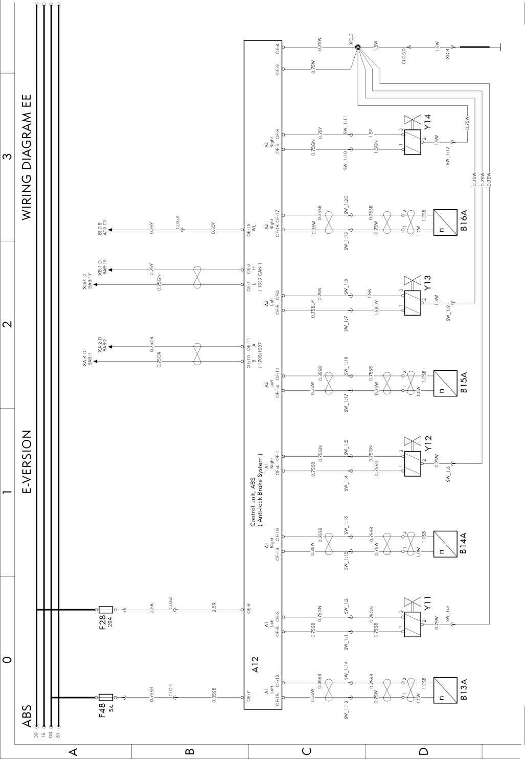 T3022001 Page 40 (298) Wiring diagram
