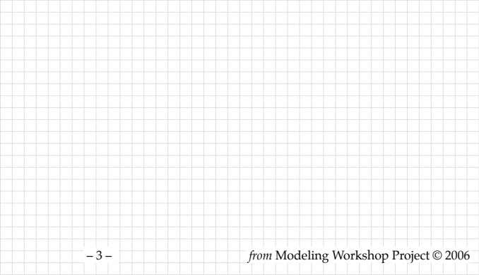 – 3 – from Modeling Workshop Project © 2006