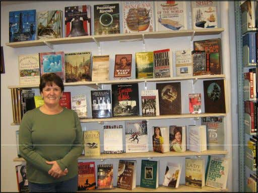 County Library System HOLIDAY GIFTS TAKE OVER FOL BOOK STORE Theresa Finkenbinder, a volunteer in the