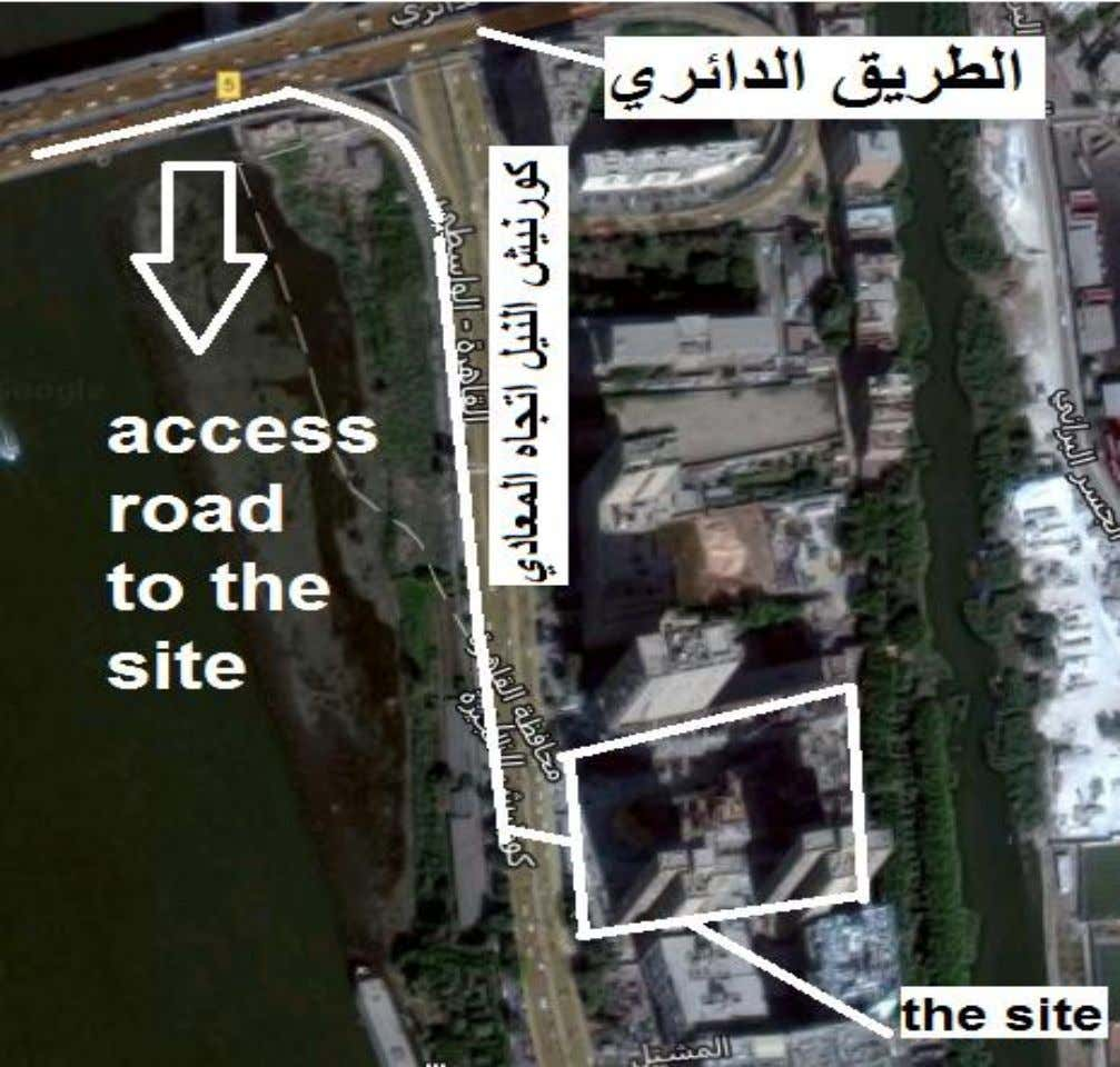 SITE LAYOUT 2.1.4 2. Provide safe, easy access to the site : Fig. (2.2) Access road