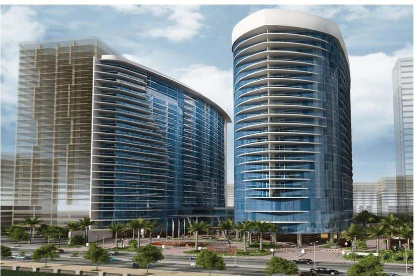 1 Project Description 1.1 Overall project description: Fig. 1.0 (Secon towers planned view) The project is