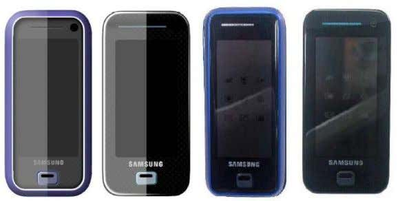 including those below, all before the iPhone was announced: A7401-13. The Samsung F700, which was announced