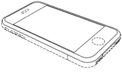 "addition of a ""bezel,"" or surrounding rim, as follows: A1294-308. Apple's D604,305 (""D'305"") patent relates"
