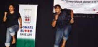 performed a Synchronized Dance Routine Krishnendu from Women's College performed a classical-