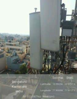 DETAIL SNAPS Sangam Vihar Site ID/ IP Site ID:- 2112 Sector Antenna Position (Beta)(fig No. 2)