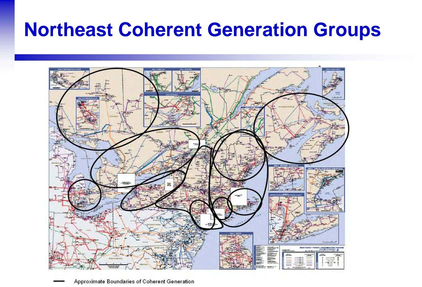 Northeast Coherent Generation Groups