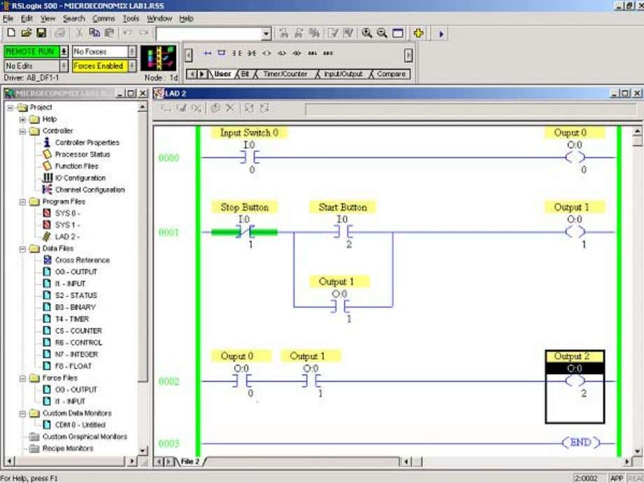 This design is to help in debugging an applications logic. Copyright © 2007 Rockwell Automation, Inc.