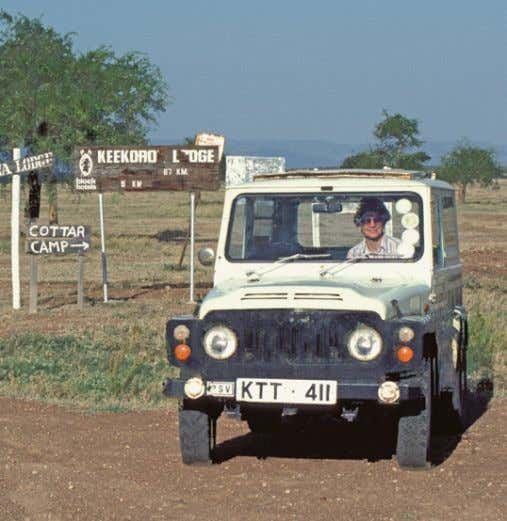else's road, that's when. Dorothy and I were on our Dorothy and I roamed around Kenya