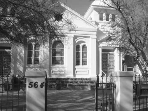 The building that houses the Jewish History Museum, 564 S. Stone Ave., has served many