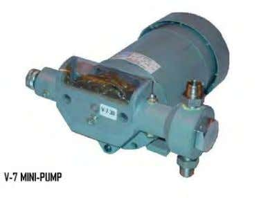 PISTON PUMP MODEL NUMBERS     MODEL   1 MODEL PISTON SIZE STROKING RATE 5 60