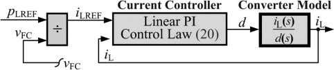 CONTROL LAW BASED ON THE DIFFERENTIAL FLATNESS PRINCIPLE 5 Fig. 8. boost converters. Power-control loop based