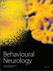 Behavioural Neurology Hindawi Publishing Corporation http://www.hindawi.com Volume 2014