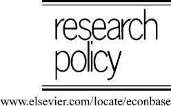 Research Policy 33 (2004) 1041–1057 Understanding company R&D strategies in agro-biotechnology: trajectories and
