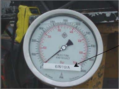 under Field Resources, Prestress Calibration Charts). Contractor gauge (# 6/8/10/A) Figure 13b 4. Plug in cable