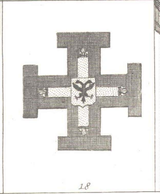 Insignia of the Teutonic Order, from Diderot's Encyclopédie Insignia of the Teutonic Order, by Arnaud