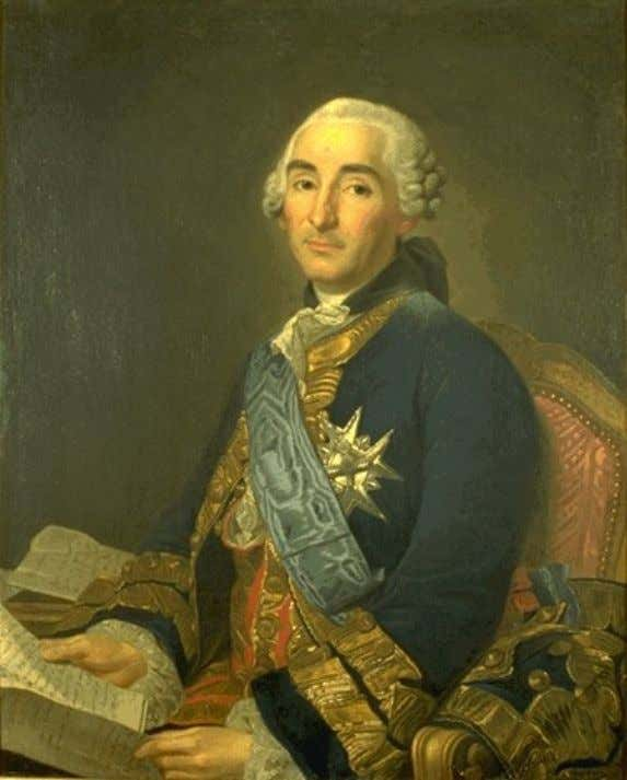 something of first class). The motto was Duce et auspice . Portrait of Etienne François, duc