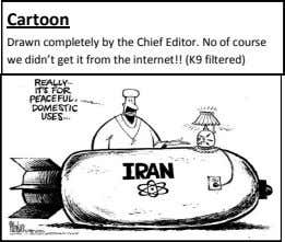 Cartoon Drawn completely by the Chief Editor. No of course we didn't get it from