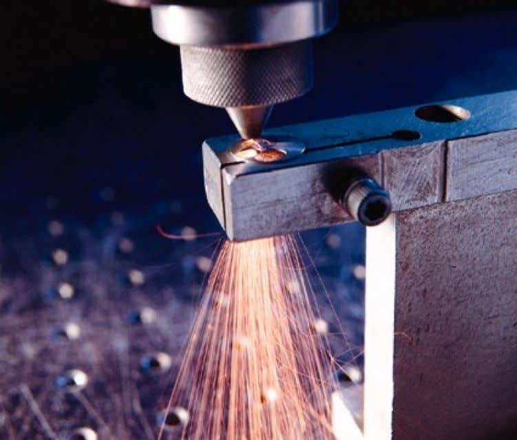 Other applications include paint removal and rapid prototyping . Industrial lasers start at about £100,000,
