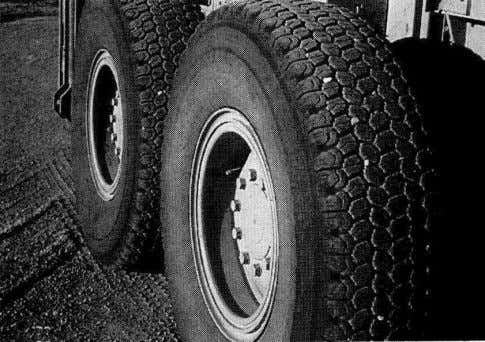  Michelin (XSNOPLUS M or S)  Goodyear (AS-3A, G-3T) New style heavy equipment tires that