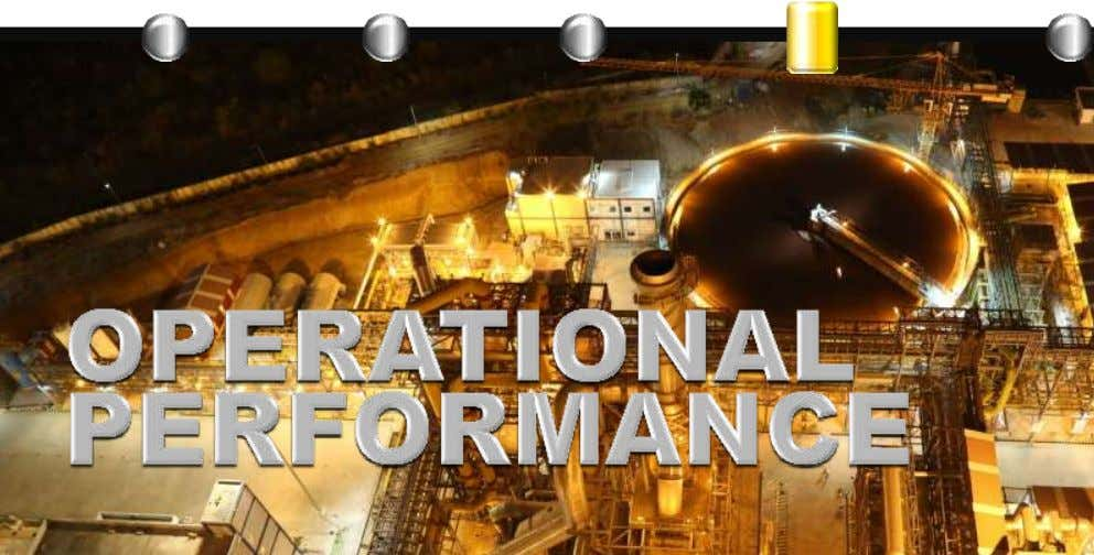 INDUSTRY DEVELOPMENTS OUR FACILITIES Q3 FY'16 OPERATIONAL PERFORMANCE FINANCIAL PERFORMANCE Analyst Presentation 39