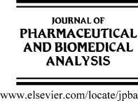 Journal of Pharmaceutical and Biomedical Analysis 40 (2006) 720–727 Validated LC/MS/MS assay for curcumin and tetrahydrocurcumin
