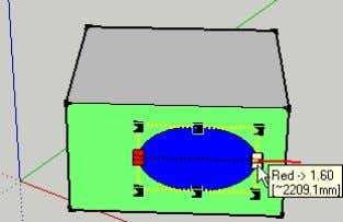 of its orientation: Native Sketchup Scale Free Scale box Free Scale deformation Like the Sketchup native