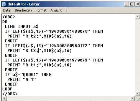 reduces the data transmission time. abc - Basic Compiler The cab Basic Compiler is always one