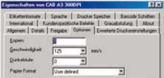 country specific codepages are supported. cab Windows driver Windows printer drivers are provided for Windows 98,