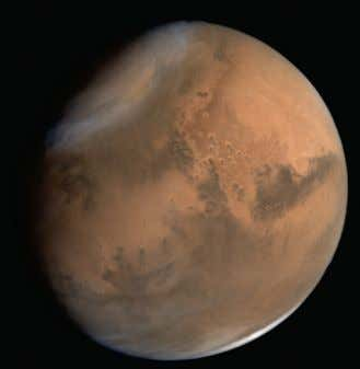 Global views of Mars captured by MCC on different dates 28-09-2014 4-10-2014 30-09-2014 4-10-2014 1-10-2014 7-10-2014