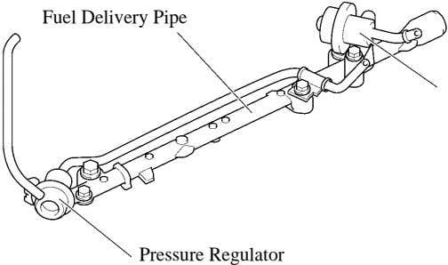 Fuel Delivery Pipe Pressure Regulator