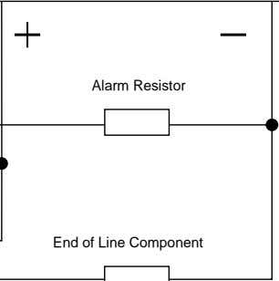 Alarm Resistor End of Line Component