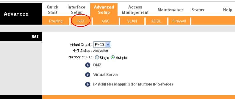 with multiple IP s. The IP Address Mapping rule is per-VC based (only for Multiple IPs'