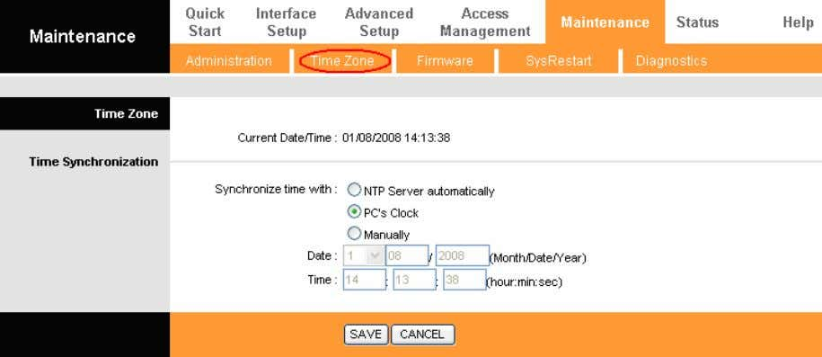 as the Synchronize time, you don't need to set any items. Figure 4-39 3. Manually Select