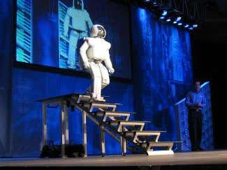 • Interactions of Actors Theory • Conversation Theory ASIMO uses sensors and intelligent algorithms to avoid