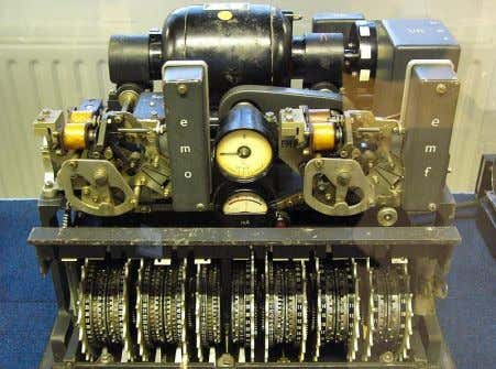 Simple explanation of encryption and decryption methods German Lorenz cipher machine , used in World War