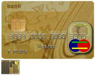 use is met. ) have become more attractive in consequence. Credit card with smart-card capabilities. The