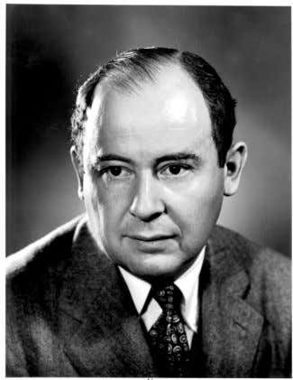 In the UK this became the focus for the Ratio Club . John von Neumann In