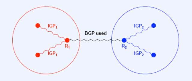 Relationship between BGP and IGP (Interior Gateway Protocol)  IGP Protocols  There is no single
