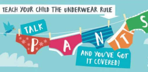 Feature There has been a lot of publicity recently about The Underwear Rule. When I first