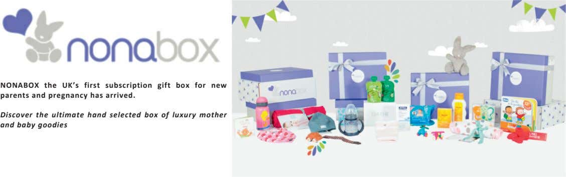 NONABOX the UK's first subscription gift box for new parents and pregnancy has arrived. Discover
