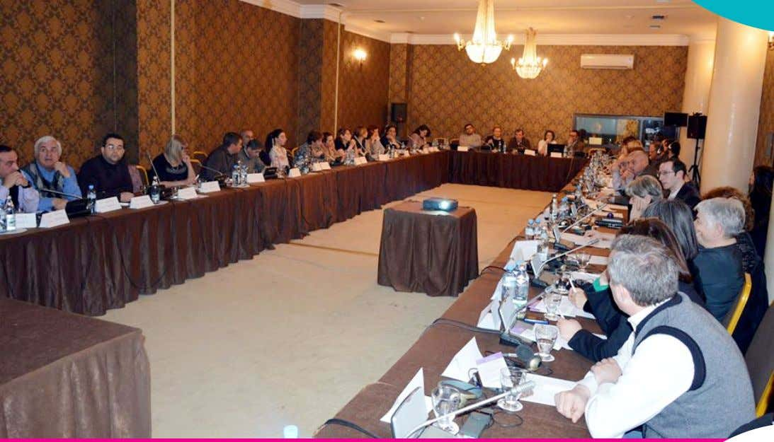 32 (52) - MARCH-APRIL 2015 WORKING MEETING OF REGIONAL CIVIL SOCIETY NETWORK .10 R-CSN MEMBERS DISCUSSED