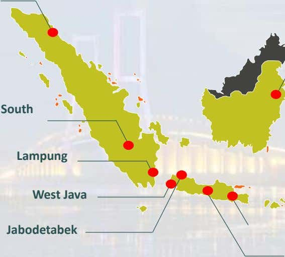 South Lampung West Java Jabodetabek