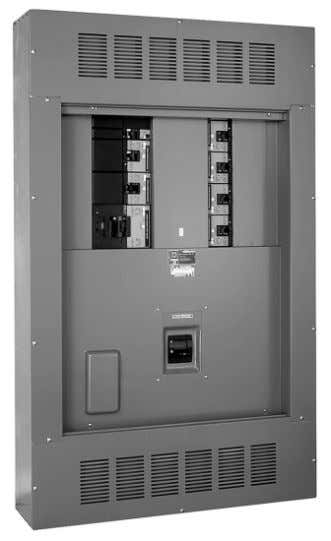 I-Line ® Circuit Breaker Panelboards Product Description Type HCP—600 A Main Circuit Breaker Panelboard Types