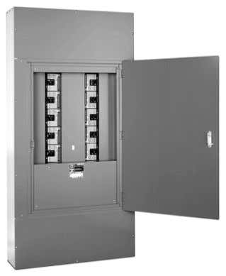 Types 1 and 2 Enclosure with Optional Door Flush Lock used on HCN, HCM, and