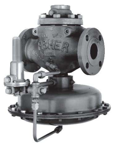 Figure 1. Type 63EG Relief Valve or Backpressure Regulator W3003-1* Figure 2. Type 1098-63EGR Relief Valve