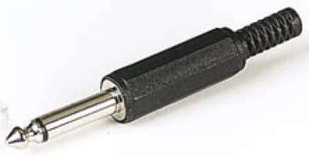 "they can be used to isolate internal speakers for example. ¼"" (6.3mm) jack plug and socket"