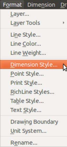 angular dimension, arrows, dual dimension, fit, linear dimension, line, radial/diameter dimension, text, tolerance.
