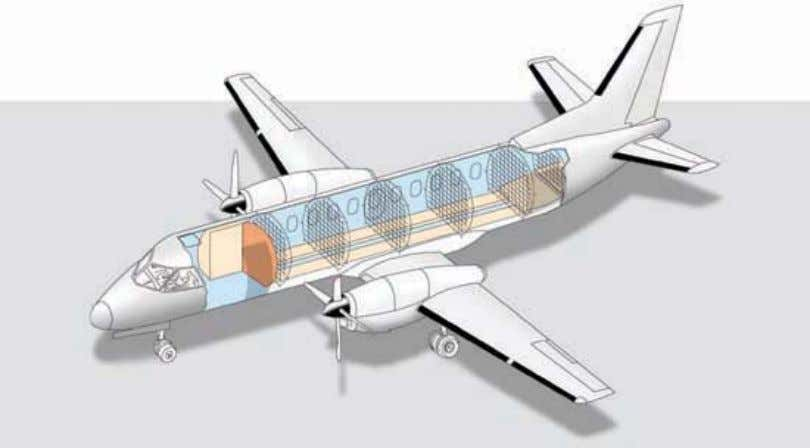 9 in c 70 ft 4 in d 30 ft 4 in General Saab 340 Cargo