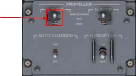 switch shown in the image below. Propeller Pump Switch To operate this switch you use a